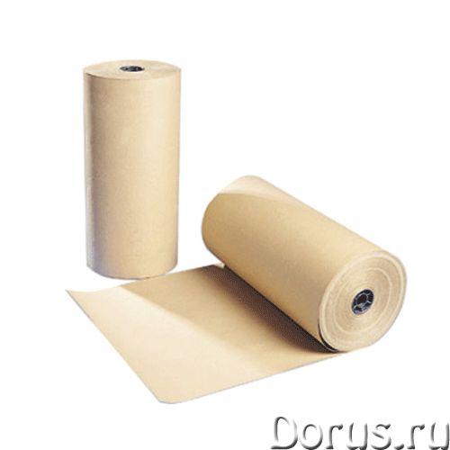Крафт бумага - Тара и упаковка - Бумага упаковочная. Ширина - 98см - город Барнаул - Тара и упаковка..., фото 1